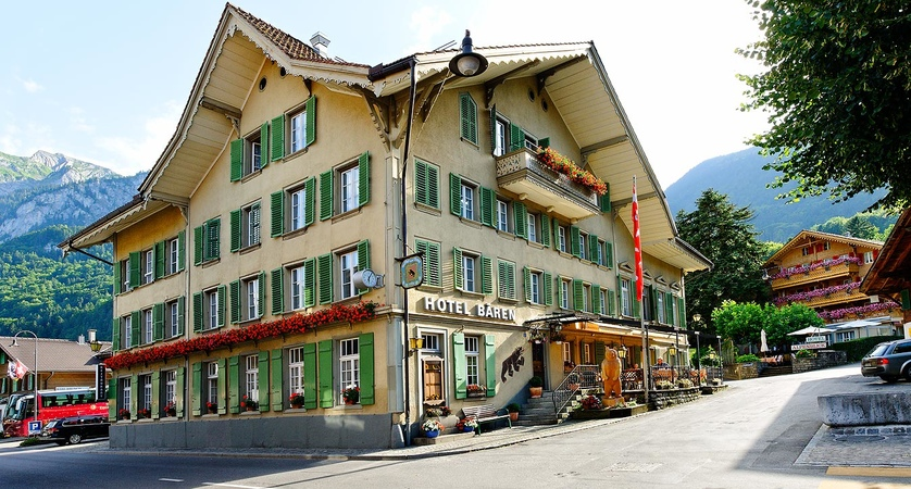 Hotel Bären Exterior Bernese Oberland Switzerland Wilderswill