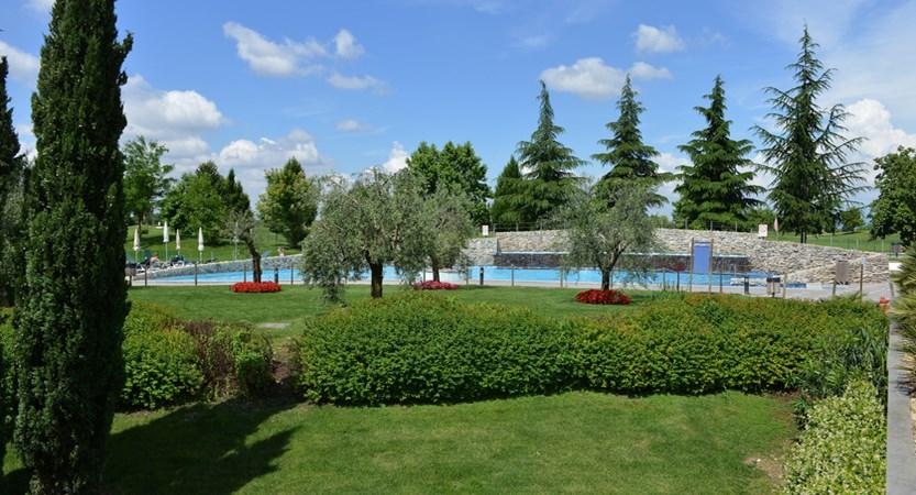 Parc Hotel Peschiera, Gardens