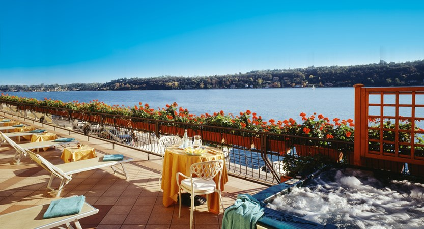 Hotel Duomo, Sun Terrace with Jacuzzi