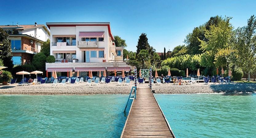 Hotel Du Lac, Private Beach Jetty