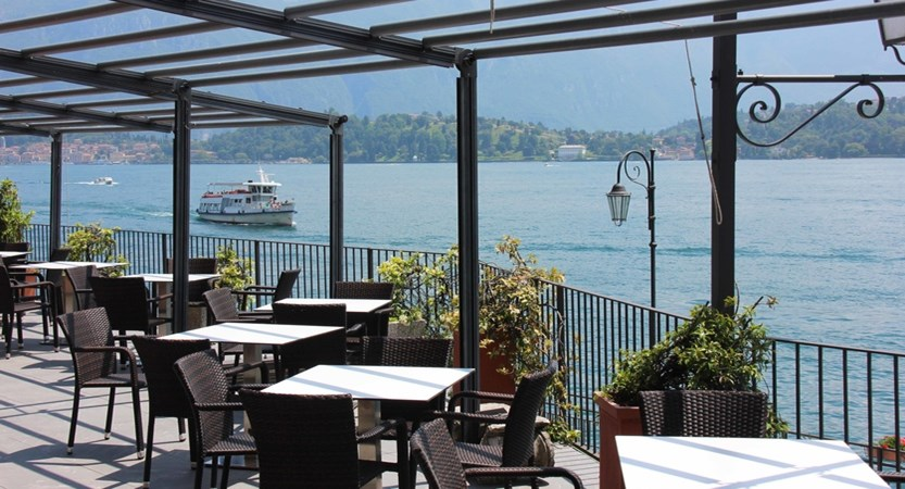 Hotel Bazzoni, Terrace and Lake View