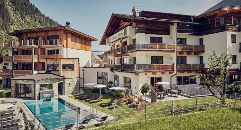 Huber's Boutiquehotel Mayrhofen Austria Exterior