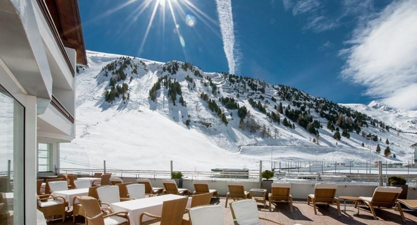 Hotel Alpina Deluxe Resort Obergurgl Austria  Terrace