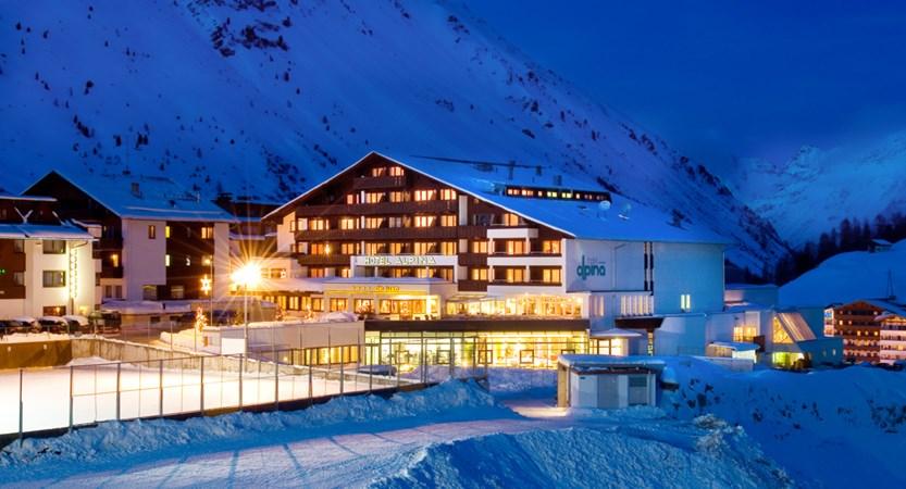 Hotel Alpina Deluxe Resort Obergurgl Austria Exterior