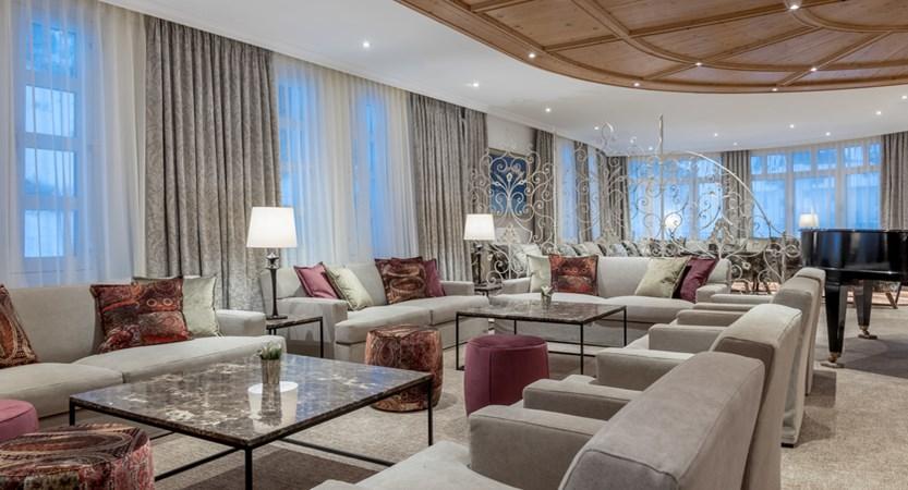 Hotel Alpina Deluxe Resort Obergurgl Austria  Lobby