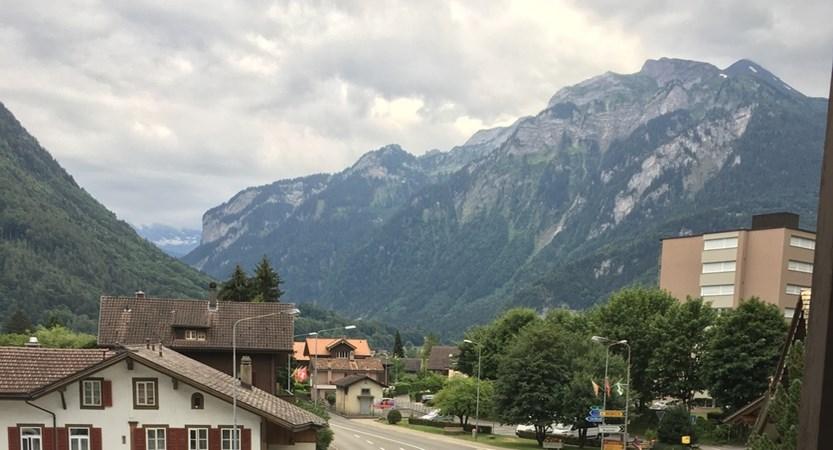Hotel Alpina, Interlaken, Bernese Oberland, Switzerland - view from hotel (1)