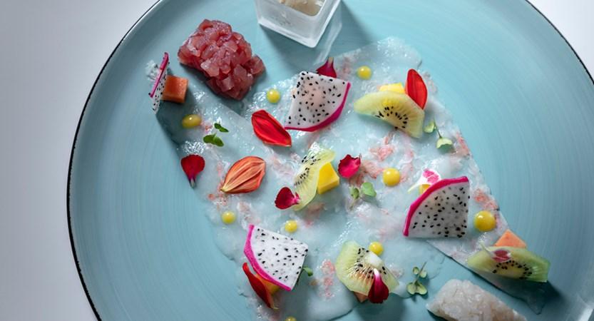 Hotel Villa Rosa, Evening Cuisine - Ceviche and Dragon fruit