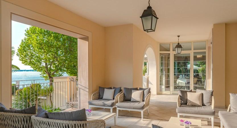Hotel Villa Rosa, Terrace Lounge