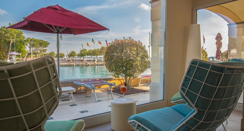 Hotel Sirmione, Spa and harbour View