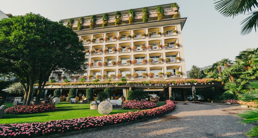 Hotel La Palma, Exterior