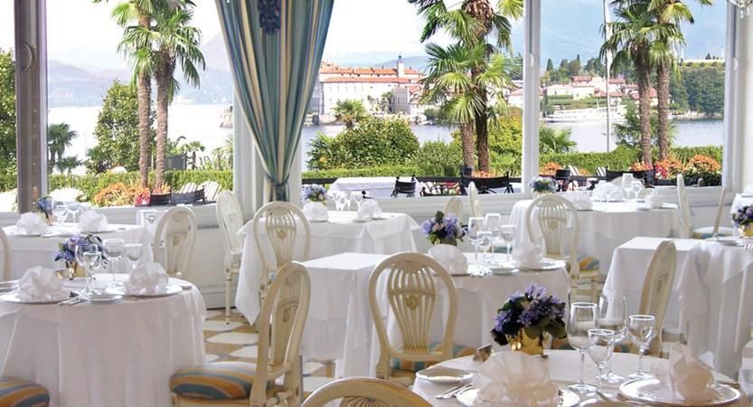 Villa e Palazzo Aminta, Le Isole Restaurant