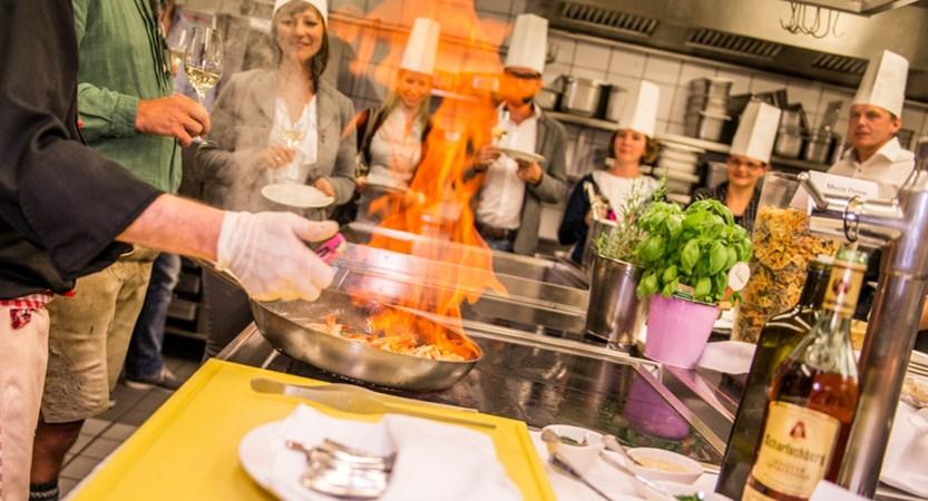 Hotel Eva Saalbach Austria Food Preparation
