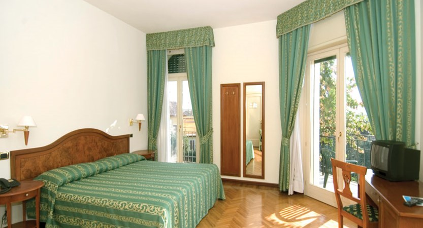 An example of the bedrooms at Chalet Hotel Galeazzi