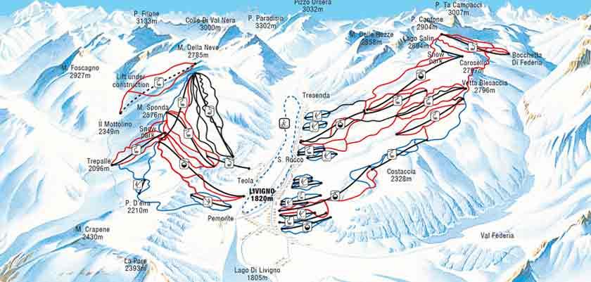 Livigno Italy Map.Ski Holidays In Livigno Italy 2019 2020 Skiing In Livigno Inghams
