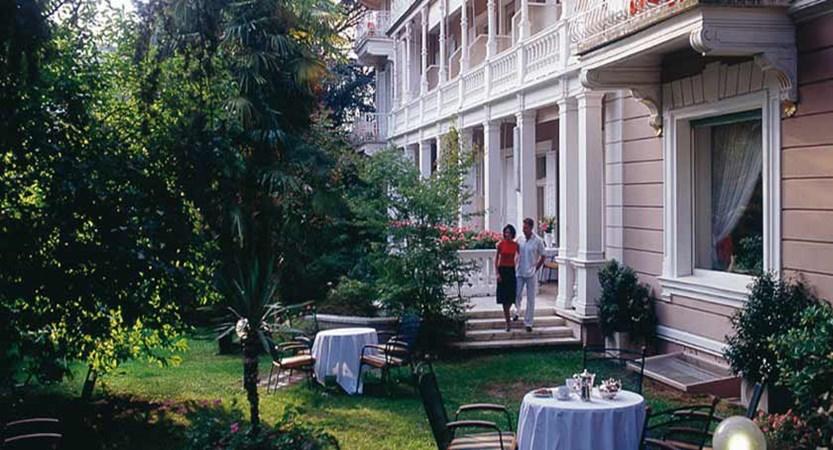 Hotel Adria, Merano, Italy - garden.jpg
