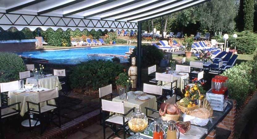 Hotel Astoria, Montecatini, Italy - Garden exterior.jpg