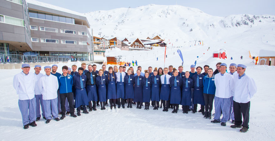 Staff at Chalet Hotel St. Christoph