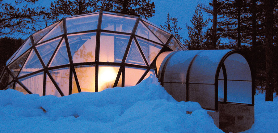 Glass -igloo