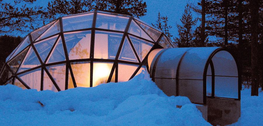 Glass -igloo