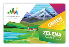 Free Resort Green card for guests.