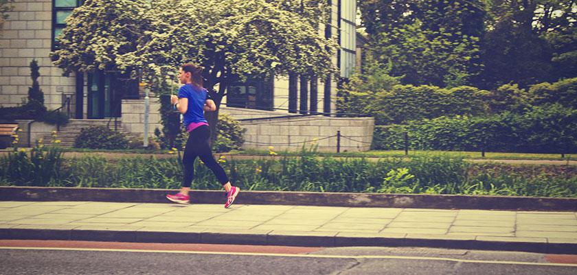 Woman Jogger Jogging Sport