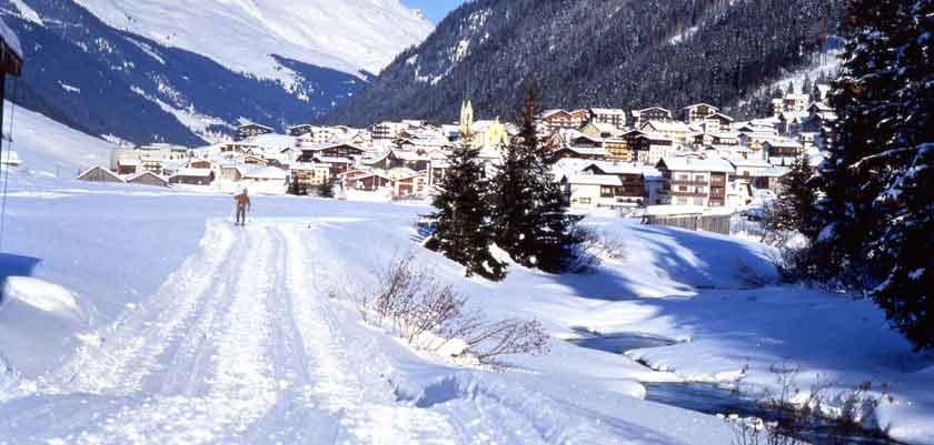 Ischgl , town view