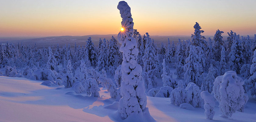 Kaamos and the Land of the Midnight Sun