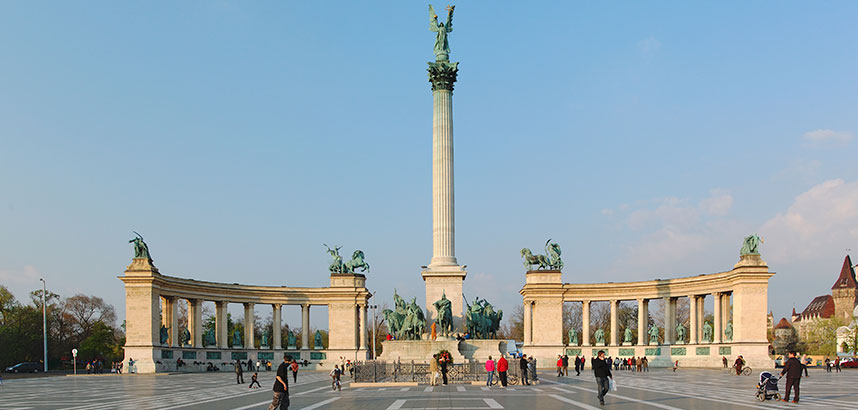 Millennium Monument at Heroes' Square, Budapest