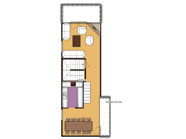 Chalet Millega First Floor Plan