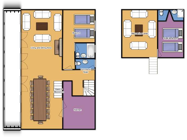 Chalet Camille Second Floor Plan