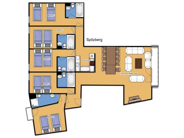 Chalet Spitzberg Floorplan