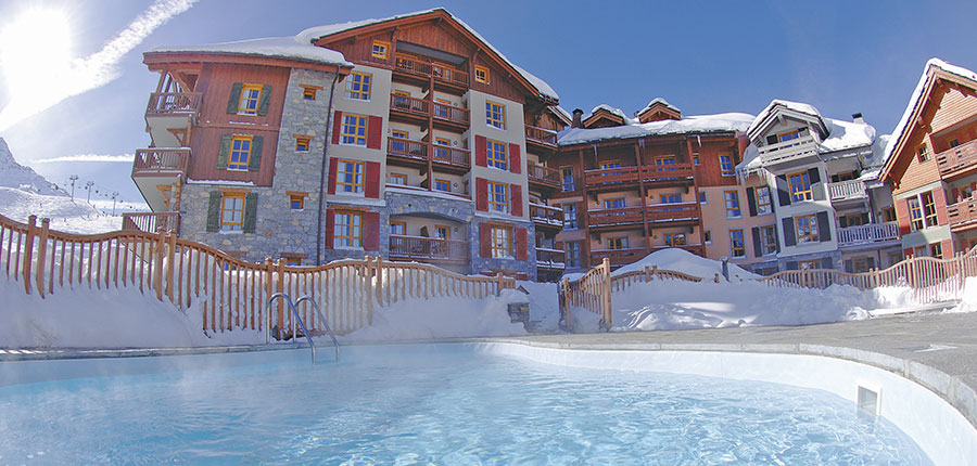 Le Village Apartments - self-catering ski apartment holidays