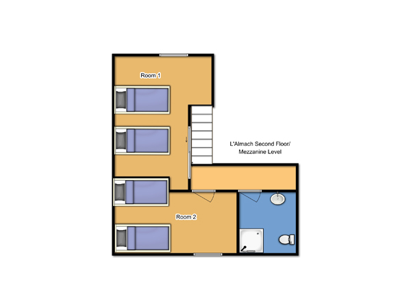 Chalet Almach First Floor plan