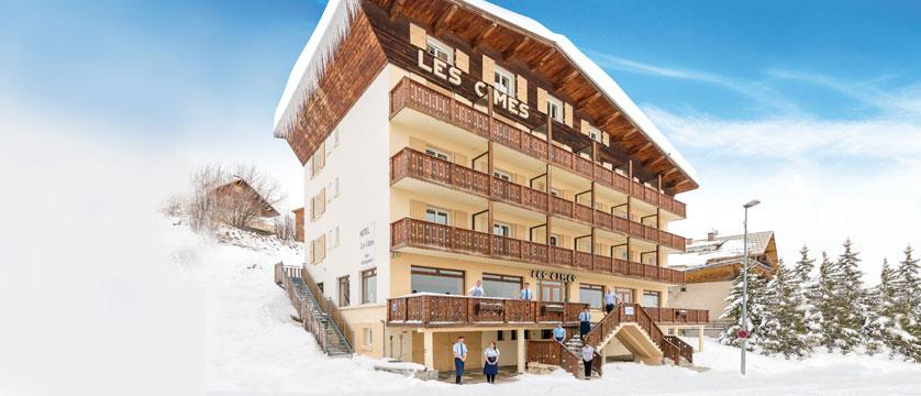 Chalet Hotel Les Cimes, Alpe d'Huez