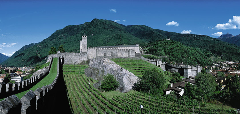 World Heritage Site of Bellinzona