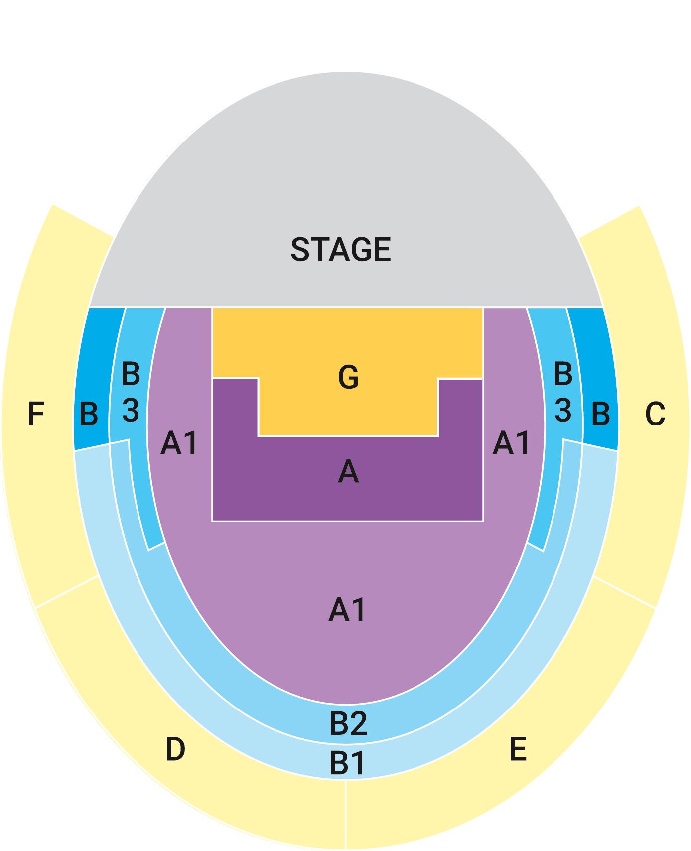 Verona Seating Plan