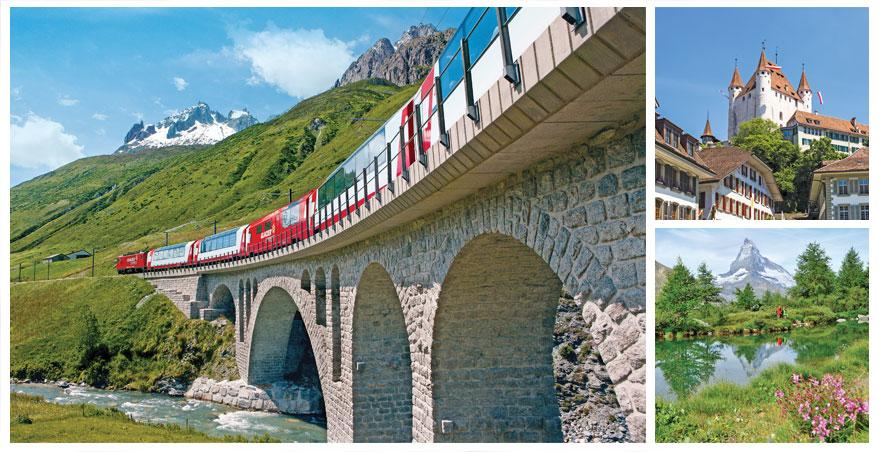 Swiss Glacier Express tour