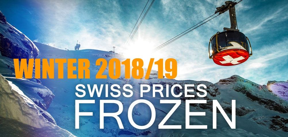 Swiss Prices Frozen