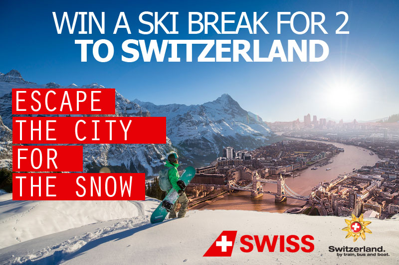 Win a Ski Break to Switzerland