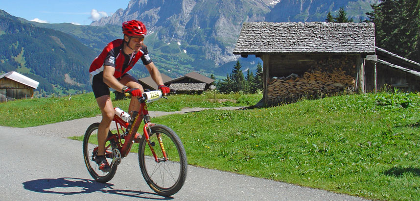 Cycling in the Jungfrau Region