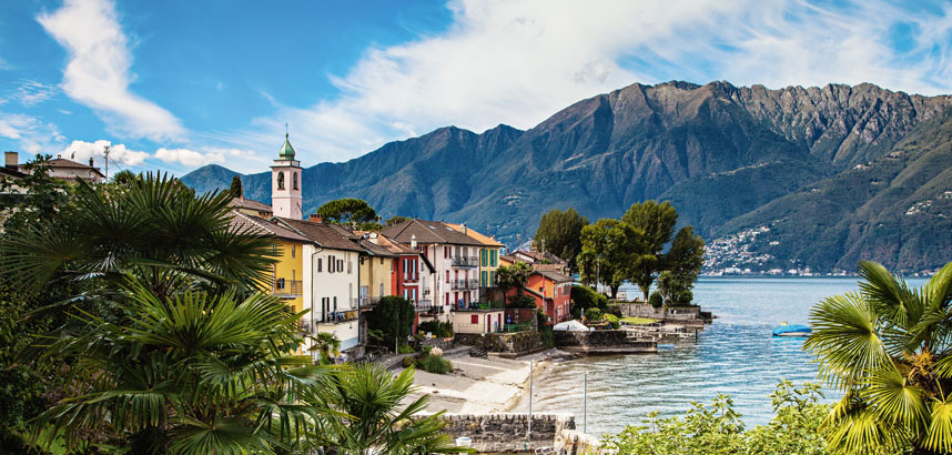 Walking holidays in Locarno, Switzerland