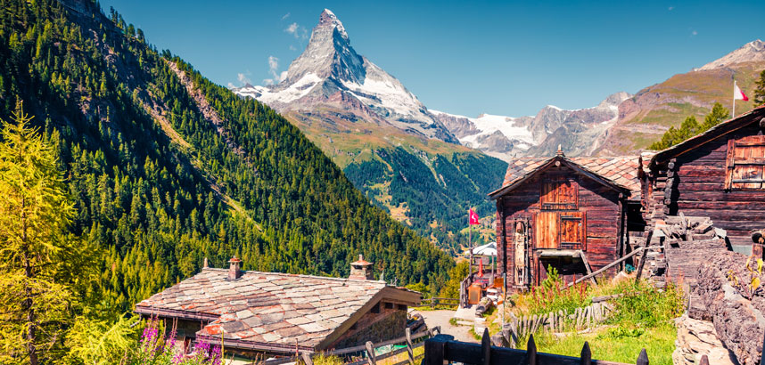 Walking holidays in Zermatt, Switzerland