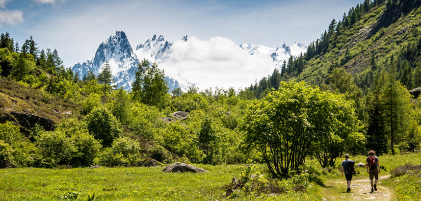 Walking holidays in Chamonix, France