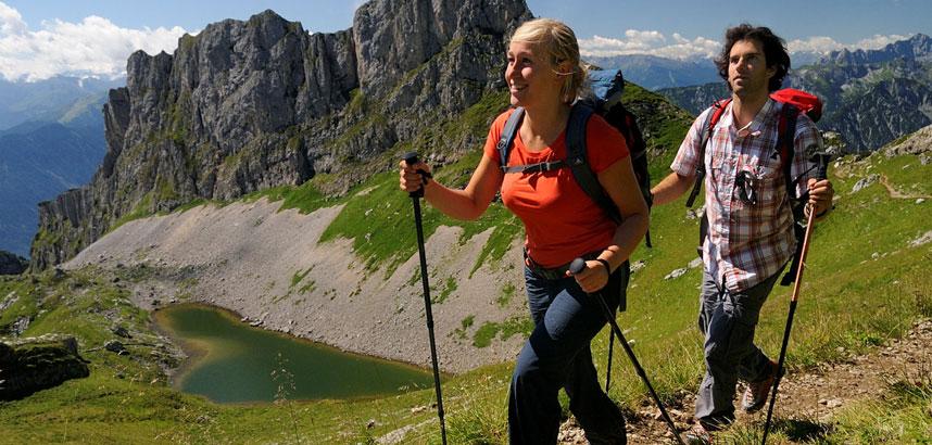 Walking in Pertisau, Austria