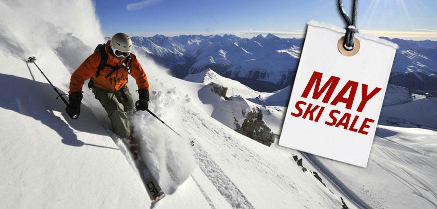 May Ski Sale