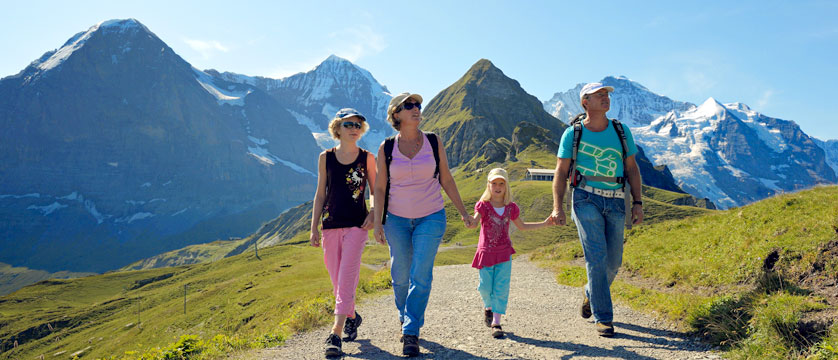 Family Summer Holidays in Grindelwald