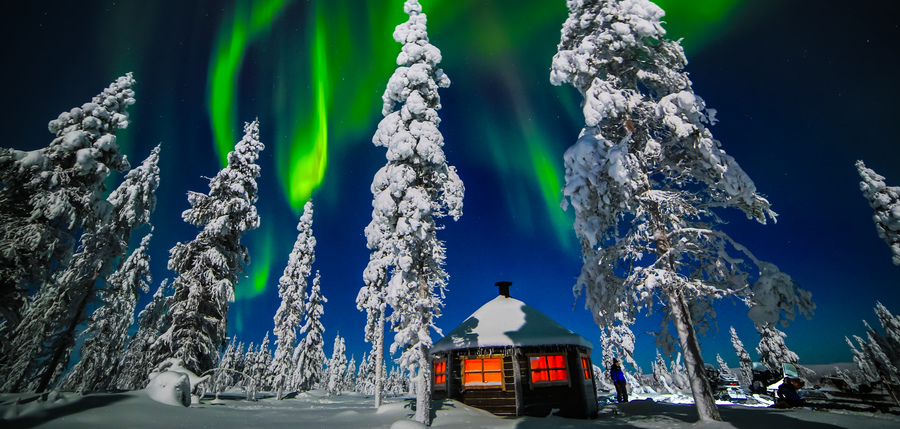 Northern Lights Winter Wonderland Lapland Holidays Inghams Inghams