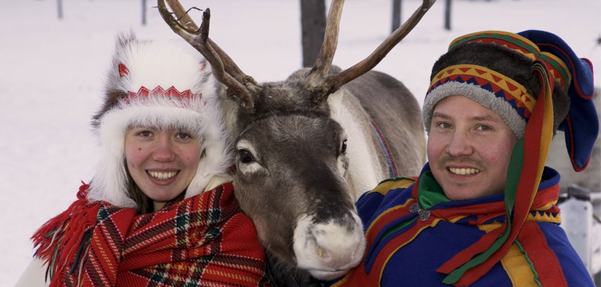 People in Lapland
