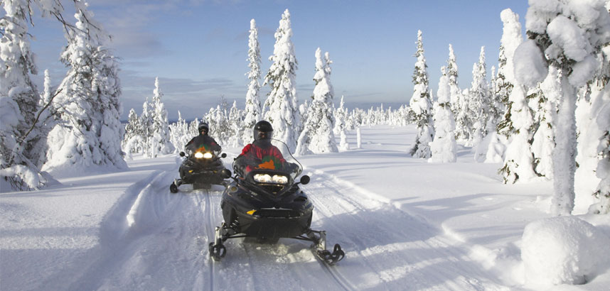 Winter activities in Lapland