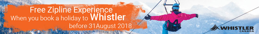Free Zipline Experience in Whistler